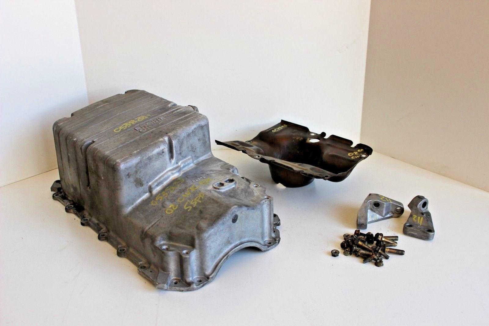 2001-2005 Honda Civic VTEC D17A2 Aluminum Oil Pan Oilpan with Hardware OEM