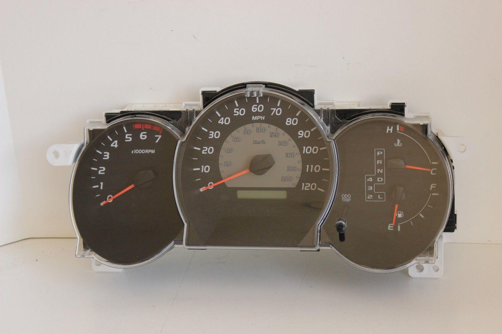 2011 Toyota Tacoma Instrument Cluster Speedometer OEM