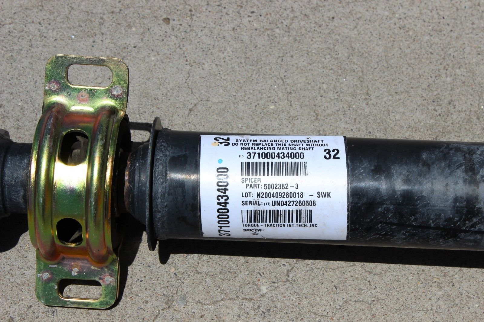 Albuquerque Drive Shaft >> 2005 2015 Toyota Tacoma Access Double Cab 4x4 4wd 4 0l Auto Rear Driveshaft 66k