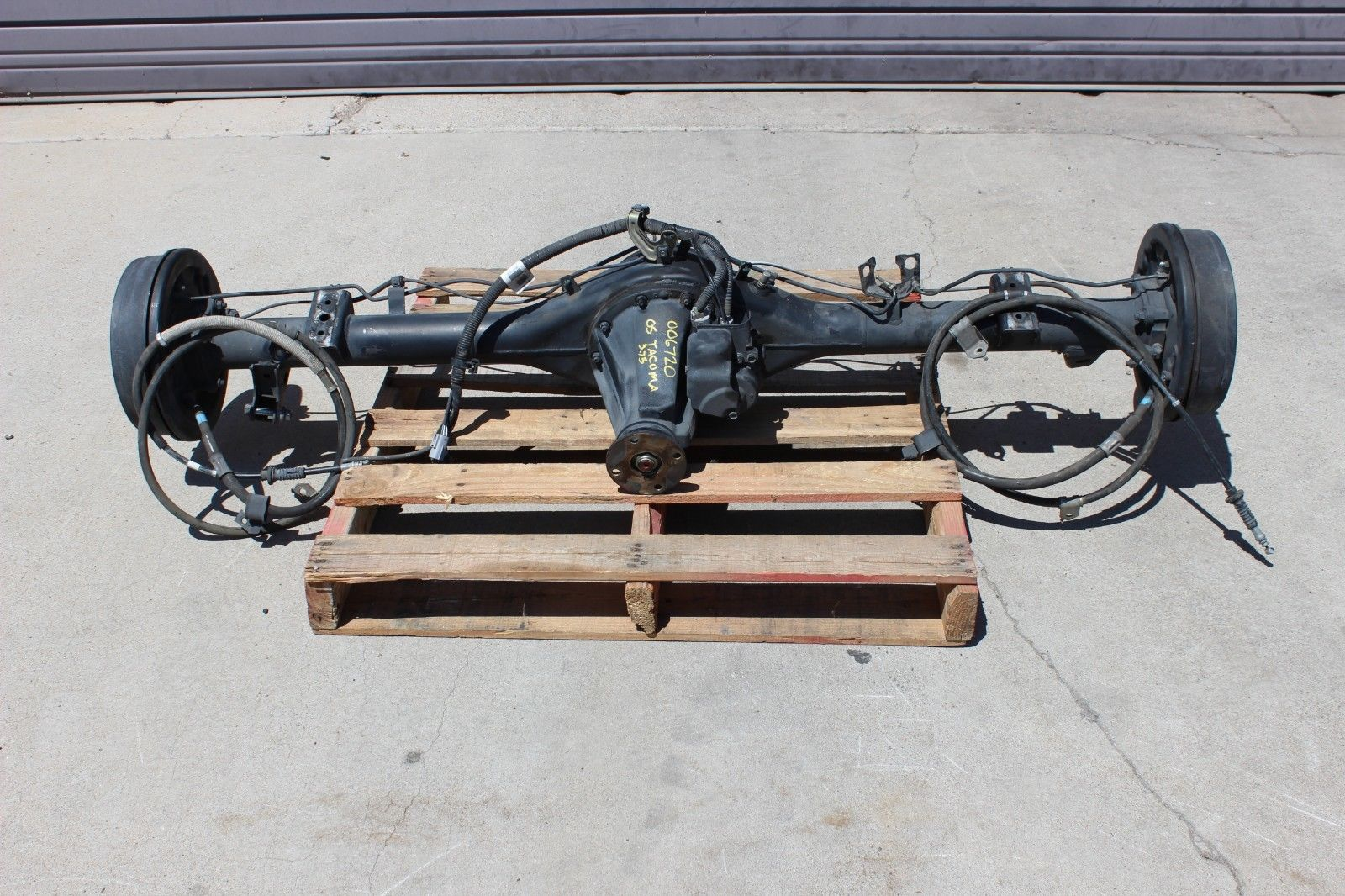 Albuquerque Salvage Yards >> Downtown Import Auto and Truck Recyclers - 2005-2015 Toyota Tacoma 4x4 PreRunner Rear Axle ...