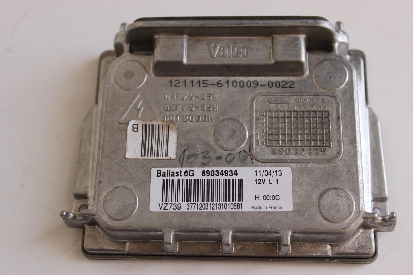 2007 2008 2009 2010 2011 2012 2013 2014 Volvo XC90 Xenon HID Headlight  Ballast Igniter