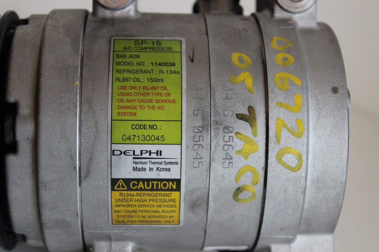 Toyota Highlander Service Manual: Cooler compressor ASSY (2AZ-FE)