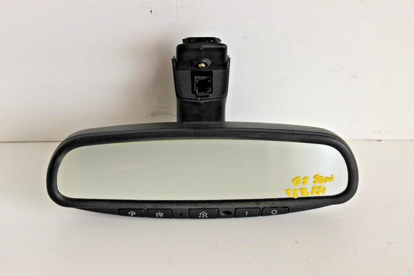 Mini Cooper Homelink Mirror