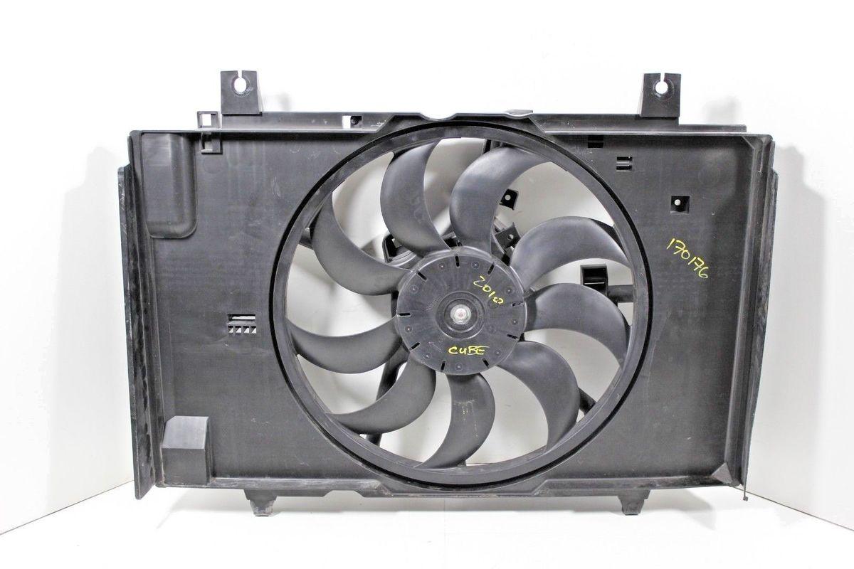 Radiator Cooling Fan w// A//C Condenser Fan For 2000-2004 Subaru Legacy LH /& RH