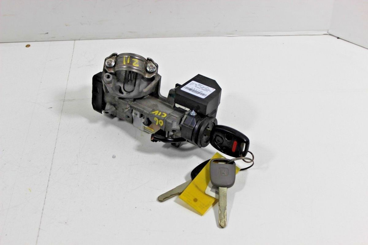 New Ignition Switch Cylinder Lock Auto Trans 2 KEY For Honda Civic 2006 2007 2008 2009 2010 2011