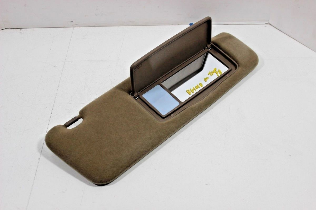 Downtown Import Auto And Truck Recyclers 1999 2000 Toyota 4runner Rh Right Passenger Side Sun Visor Brown Oem