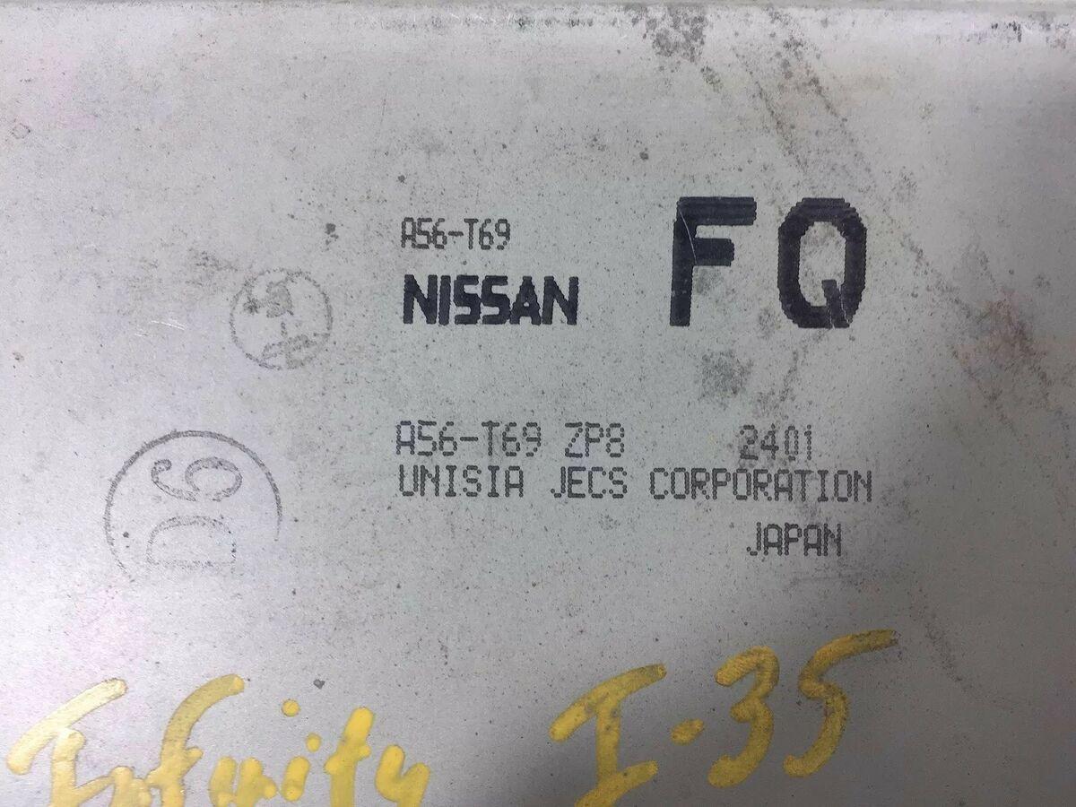 2002 Infiniti I35 Nissan Maxima Engine Computer ECU PCM A56-T69
