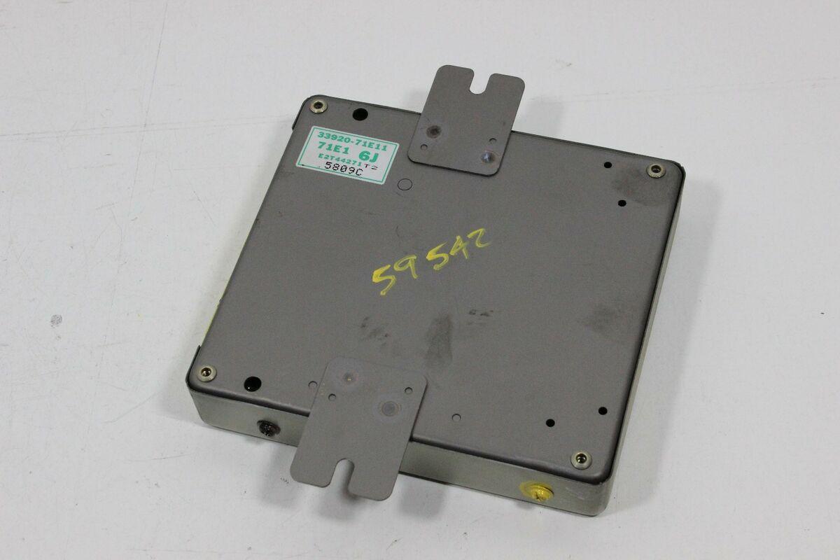 1996 Geo Tracker Suzuki Sidekick Engine Computer ECU PCM 2 Door 5Spd  33920-71E11